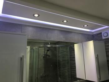 Bathroom with LED Lighting