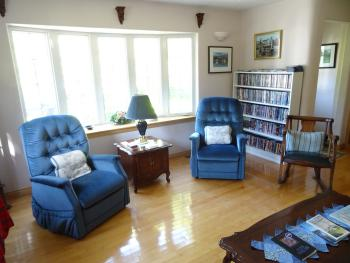 Enjoy a welcome tea or coffee in the front room