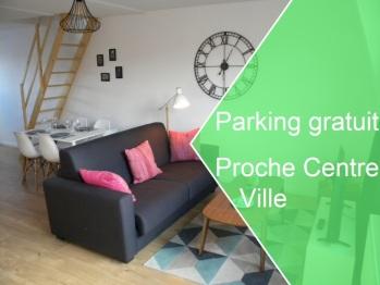 Apartment Lille - Proche métro - Stationnement gratuit