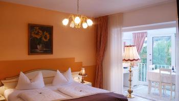 Doppelzimmer mit Wintergarten