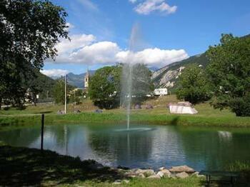 Le lac des moulins sur Le Val d'Ambin