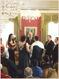 Cobb Lane BB Wedding in parlor