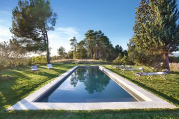 La piscine, au calme, en pleine nature
