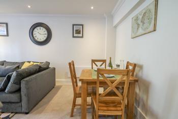 Dining area for 4 guests.