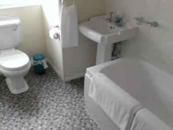 Bathroom in Penthouse Suite