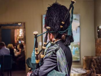 Burns night 2019 @ Drapers hall