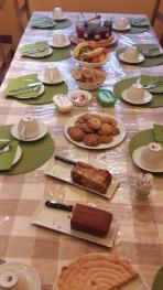 un exemple de petit-déjeuner
