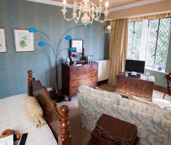 Romantic room at Augill Castle