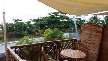 Duplex Kawane, terrasse vue mer