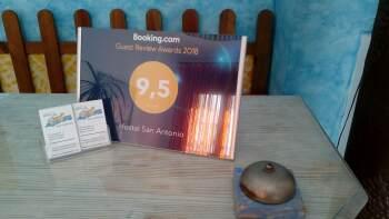 Recepción Booking 2018