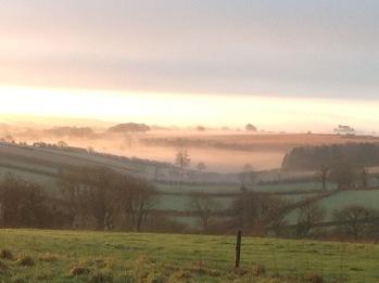 View to Eggardon Hill
