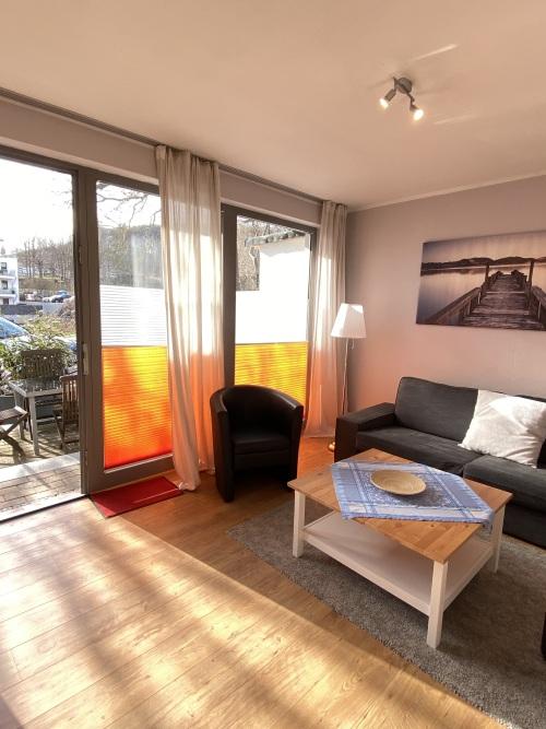 Ferienwohnung-Familie-barrierefreies Badezimmer-Terrasse
