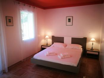 Chambre Orange - lit double 160