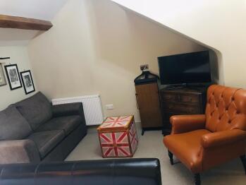 Dovecote seating area
