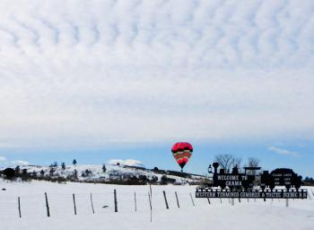 2020 SnowBall Ballon Rally! Come fly with Chama, NM! Stay warm with El Meson Lodge