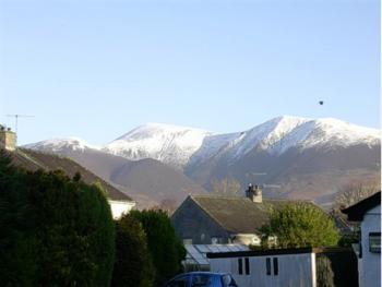 Skiddaw Viewed From Room 9
