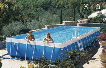 Modèle de la piscine à disposition du gîte