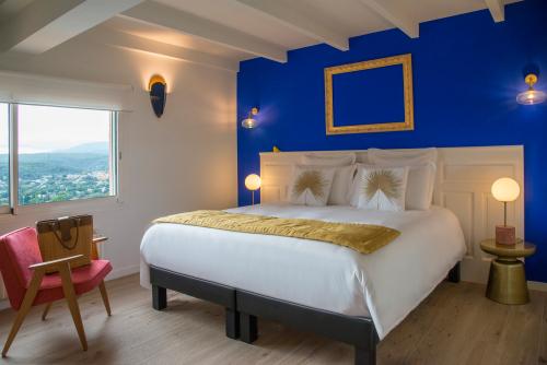 Double ou Twin-Deluxe-Vue Panoramique-Salle de bain privée séparée-1er étage