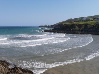 Beach at Portmellon just a few mins walk of the House