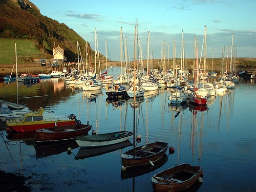 Axmouth Harbour at Sunset