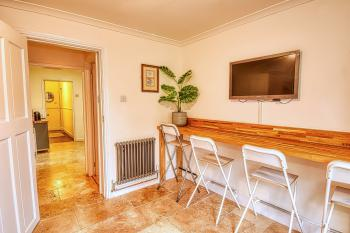 Family Room adjacent to Kitchen
