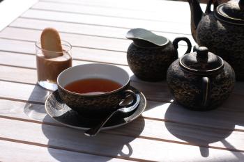Un thé au soleil...