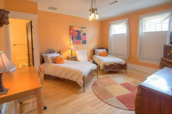 Tangerine Bed Room