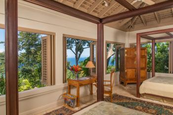 Villa #2 Upper Level Dual Queen Bedroom