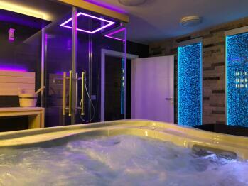 Suite-Luxury-Jacuzzi-Pool View-Oasis Wellness Suite