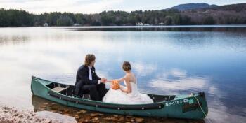 Boating on Highland Lake