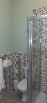 New Large Super King Ensuite with Comfy Chairs & Fridge Shower Room