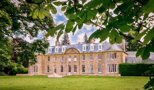 Blervie House - rear view