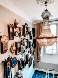 Clock Wall - Staircase