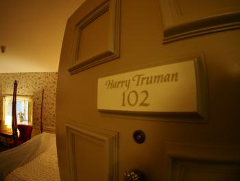 Room 102 Harry Truman-King-Private Bathroom-Superior-Street View - Room 102 Harry Truman-King-Private Bathroom-Superior-Street View