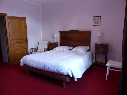 Domaine Saint-Louis chambre Rose à Carcassonne
