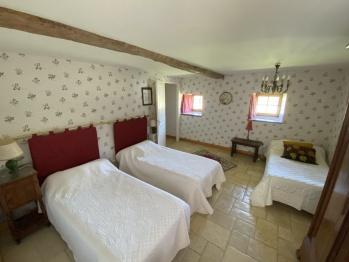 la chambre à 3 lits