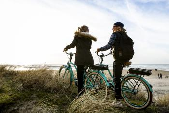 Activité : balade en vélo à la plage