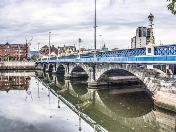 Queens Bridge ~ River Lagan, Belfast