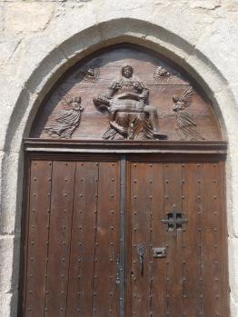 Portail de la chapelle du Mortier