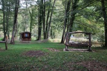Parc animalier du Hérisson Roulotte Zingara