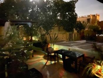 Riad Akka Marrakech - Fin de journée