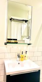 Our gorgeous bathrooms are perfect for getting ready