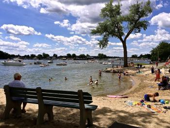 Only 3-5 miles from a lovely port town of Sodus Point NY with its sandy public beach.