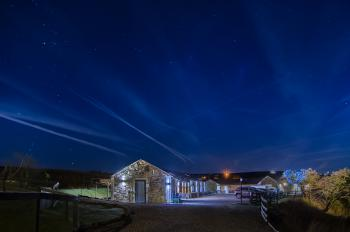 Rossendale Holiday Cottages at night
