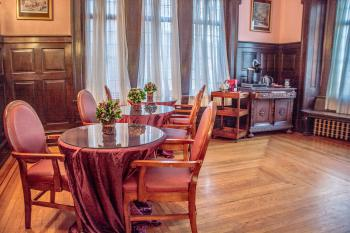 Historic Benner Mansion Complimentary 24/7 Guest Coffee, Tea and Snack Buffet