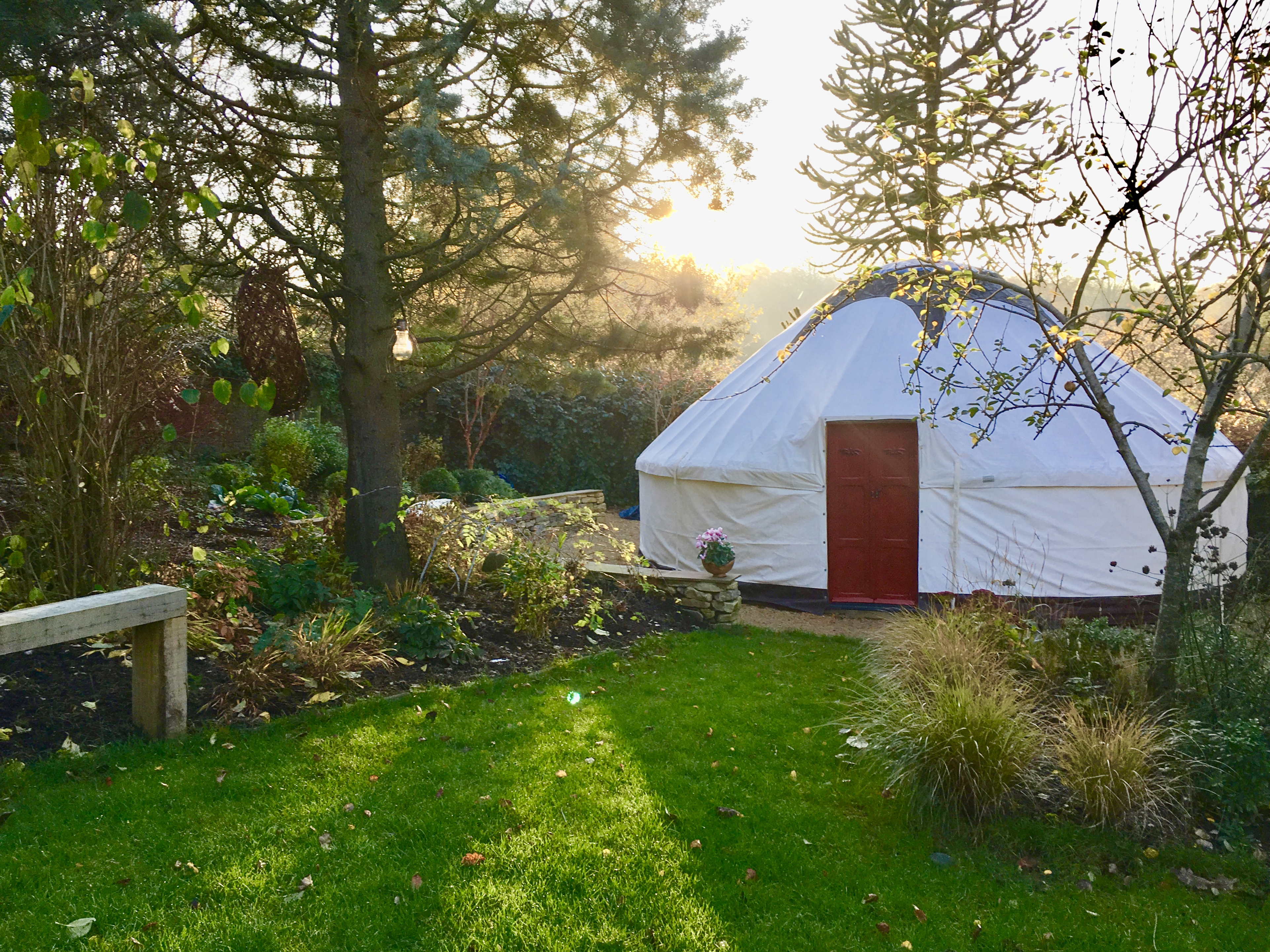 Walled Garden Yurt