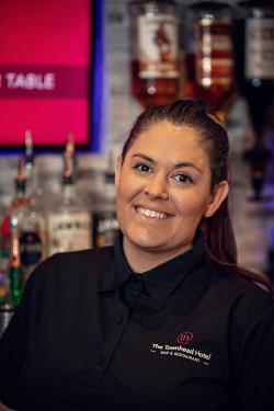 Leigh our manageress
