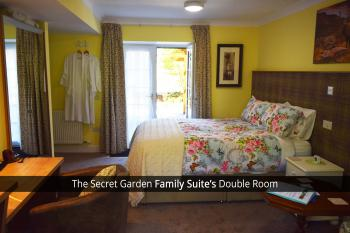 The Secret Garden Family Suite's Double Room with King Bed
