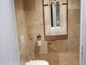 WC séparés Chambre Pompadour château des Périchons