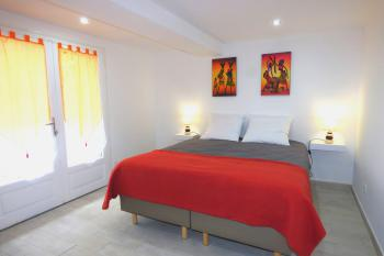 Chambre Kayla : Les lits peuvent être séparés